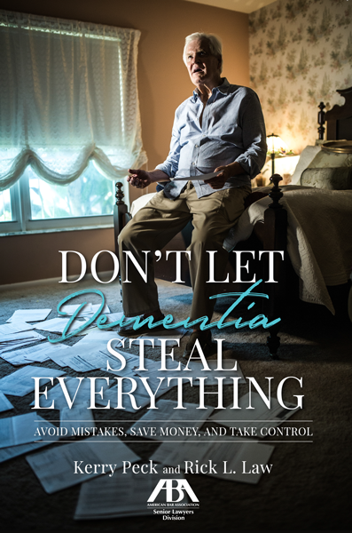 don't let dementia steal everything ebook cover